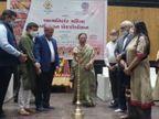 સુરતમાં કોવિડના નિયમો અનુસાર આત્મનિર્ભર અભિયાન અંતર્ગત મહિલા એક્ઝિબિશનનું આયોજન કરાયુ|સુરત,Surat - Divya Bhaskar