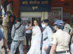બાંદ્રા પોલીસ સ્ટેશનમાં કંગનાની બે કલાક સુધી પૂછપરછ, વીડિયોમાં કહ્યું- 'હસવા પર પણ કેસ થઈ રહ્યાં છે'|બોલિવૂડ,Bollywood - Divya Bhaskar