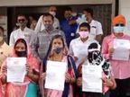 સુરતમાં મોંઘવારીને લઈને વિધવા સહાયમાં વધારો કરવા માટે ક્લેક્ટરને આવેદનપત્ર આપવામાં આવ્યું|સુરત,Surat - Divya Bhaskar