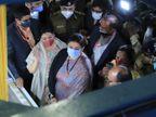 સુરતમાં કેન્દ્રીય ટેક્સટાઈલ મંત્રી સ્મૃતિ ઈરાનીના હસ્તે લોકડાઉન બાદ પ્રથમ વખત ત્રિ દિવસીય'સીટેક્ષ એક્ષ્પો-2021'ને ખુલ્લુ મૂકવામાં આવ્યું સુરત,Surat - Divya Bhaskar