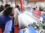 સુરતનો ટેક્સટાઈલ ઉદ્યોગ હવે લુધિયાણાંની જેમ નિટીંગ મશીનરીઓ માટેનું ગેટ-વે બનશે|સુરત,Surat - Divya Bhaskar