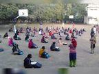 આશરે 300 દિવસ પછી ધોરણ 10ના 35% જ્યારે ધો.12ના 38% વિદ્યાર્થીનું સ્કૂલ કેમ્પસમાં આગમન|વડોદરા,Vadodara - Divya Bhaskar
