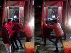 ગોંડલ નજીક ભરૂડી ટોકનાકા પર કારચાલકે ટોલ ન ભરવા માથાકૂટ કરી, કર્મચારીનો કાંઠલો પકડી લાફા ઝીંક્યા, સમગ્ર ઘટના CCTVમાં કેદ|રાજકોટ,Rajkot - Divya Bhaskar