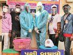 પક્ષી બચાવો અભિયાન હેઠળ શહેરમાં 250 પક્ષીઓના જીવ બચાવવામાં આવ્યા|અમદાવાદ,Ahmedabad - Divya Bhaskar