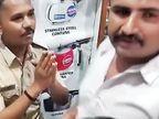 વેપારીઓ પાસેથી ક્રાઈમ બ્રાંચના નામે માસ્કનો દંડ ખંખેરતો હોમગાર્ડ ઝડપાયો|સુરત,Surat - Divya Bhaskar