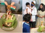 ઓસ્ટ્રેલિયા સામેની સીરિઝ જીતના સેલિબ્રેશન માટેની કેક પર હાથમાં તિરંગો લઈને બેઠેલા કાંગારૂનું ટોપિંગ બનાવાયું, રહાણેએ કાપવાની ના પાડી|ક્રિકેટ,Cricket - Divya Bhaskar