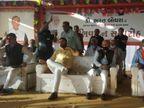 જસદણમાં ભાજપ પ્રદેશ ઉપાધ્યક્ષના સન્માનમાં હજારો કાર્યકરોની પડાપડી, કેબિનેટ મંત્રી જયેશ રાદડિયા સહિત 75 ટકા લોકો માસ્ક વિના જોવા મળ્યા જસદણ,Jasdan - Divya Bhaskar
