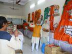 મતદારોને રિઝવવા ભાજપ વિકાસનો 'અરીસો' દેખાડશે, ...અને બીજી તરફ એક જ દિવસમાં 300 કરોડના કામો મંજૂર|સુરત,Surat - Divya Bhaskar
