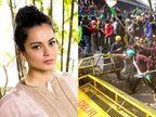 વીડિયો શૅર કરીને કહ્યું- 'કથિત ખેડૂત આંદોલનને સમર્થન કરતાં લોકોને જેલમાં નાખો, ખેડૂતો આતંકીઓ છે'|બોલિવૂડ,Bollywood - Divya Bhaskar