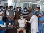 સુરતમાં પોલીસ-પાલિકા કમિશનર અને કલેક્ટર સહિતના અધિકારીઓએ કોરોના વેક્સિન લીધી|સુરત,Surat - Divya Bhaskar