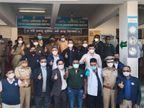 શહેરમાં વેક્સિનના બીજા તબક્કાનો પ્રારંભ, કલેક્ટર, DSP સહિતના અધિકારીઓ વેક્સિન લીધી, રોજના 300થી 400 પોલીસકર્મીઓને વેક્સિન આપવામાં આવશે|અમદાવાદ,Ahmedabad - Divya Bhaskar
