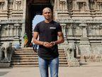 ટી. નટરાજને ઓસ્ટ્રેલિયામાં મળેલી સફળતા પછી મુંડન કરાવ્યું, સોશિયલ મીડિયામાં ફોટો શેર કરીને લખ્યું- સૌભાગ્યશાળી અનુભવી રહ્યો છું|ક્રિકેટ,Cricket - Divya Bhaskar
