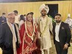જયદેવના લગ્ન સંપન્ન; સંગીત સેરેમનીમાં કહ્યું, 'રિનીને પ્રપોઝ કરતી વખતે હું ધોની સામે બોલિંગ કરતી વખતે હોવ એનાથી વધુ નર્વસ હતો'|ક્રિકેટ,Cricket - Divya Bhaskar