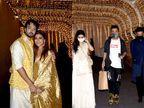 ભાઈના લગ્નમાં શ્રદ્ધા કપૂર પ્રેમી સાથે આવી, કોર્ટ વેડિંગ બાદ યોજાયેલી પાર્ટીમાં બોલિવૂડ સેલેબ્સ આવ્યા|બોલિવૂડ,Bollywood - Divya Bhaskar