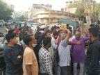 અમદાવાદમાં કોંગ્રેસ ઉમેદવારો જાહેર કરે તે પહેલાં જ વિરોધ શરૂ, કોંગ્રેસ ભવન ખાતે પોલીસ બંદોબસ્તની સાથે બાઉન્સર પણ મુકાયા|અમદાવાદ,Ahmedabad - Divya Bhaskar