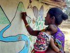 રાંચીમાં કામિની સિંહાએ 100 આદિવાસી મહિલાઓને મધુબની પેન્ટિંગ શીખવાડી આત્મનિર્ભર બનાવી, દર મહિને 10 હજાર રૂપિયાની કમાણી કરે છે|લાઇફસ્ટાઇલ,Lifestyle - Divya Bhaskar