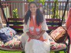 ભાજપની મહિલા ઉમેદવારની પત્રકારત્વથી ઉમેદવાર સુધીની સફર, નારીશક્તિને મજબૂત બનાવવાનો સંકલ્પ કર્યો|સુરત,Surat - Divya Bhaskar