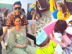 કરન જોહરના બાળકો યશ-રૂહીના જન્મદિવસની પાર્ટીની તસવીરો, પ્રેગ્નન્ટ કરીના કપૂર દીકરા સાથે આવી|બોલિવૂડ,Bollywood - Divya Bhaskar