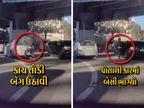 ટ્રાફિકમાં કાર ઊભી રહેતાં લાભ લીધો, કારની પાછળનો કાચ તોડી બૅગ ઊઠાવી યુવક ભાગી ગયો|વર્લ્ડ,International - Divya Bhaskar