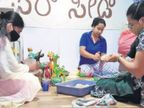 મેંગ્લોરના પાક્ષીકેર ગામમાં છેલ્લા 4 વર્ષથી 8 મહિલાઓ બાયોડિગ્રેડેબલ પેપરમાંથી પ્રોડક્ટ્સ બનાવે છે|લાઇફસ્ટાઇલ,Lifestyle - Divya Bhaskar