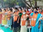 સુરતના પાટીદારોના ગઢમાં ભાજપ પ્રદેશ અધ્યક્ષ સીઆર પાટીલ 2 સભાઓ ગજવશે, 120 ઉમેદવારે એક સાથે એકત્રિત થઈને પ્રદેશ અધ્યક્ષની હાજરીમાં પ્રતિજ્ઞા|સુરત,Surat - Divya Bhaskar