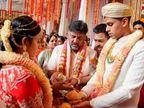 કર્ણાટક કોંગ્રેસના અધ્યક્ષ DK શિવકુમારની દીકરીએ ભાજપ નેતા SM કૃષ્ણાના દોહિત્ર સાથે લગ્ન કર્યા ઈન્ડિયા,National - Divya Bhaskar