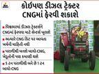 દેશનું પહેલું CNG ટ્રેક્ટર લોન્ચ થયું, ડીઝલની સરખામણીએ વાર્ષિક દોઢ લાખ રૂપિયા બચશે|ઓટોમોબાઈલ,Automobile - Divya Bhaskar