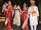 ડિવોર્સના બે વર્ષ બાદ દિયા મિર્ઝાએ બિઝનેસમેન વૈભવ રેખી સાથે ફેરા ફર્યા, લગ્ન બાદ ફોટોગ્રાફર્સને મીઠાઈ ખવડાવી બોલિવૂડ,Bollywood - Divya Bhaskar