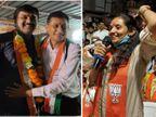 સુરતમાં શેરી-મહોલ્લાનું રાજકારણ ઘર સુધી પહોંચ્યું, ભાજપનાં મહિલા ઉમેદવારના પતિ કોંગ્રેસમાં જોડાતાં રાજકીય માહોલ ગરમાયો|સુરત,Surat - Divya Bhaskar
