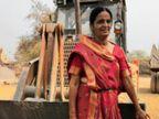 છત્તીસગઢમાં દમયંતી સોનીએબે સંતાનોના ઉછેર માટેહેવીવ્હીકલ્સ ચલાવવાનું શરૂ કર્યું, તેઓ માનેછે, પુરુષોકરતાં મહિલા સારુંડ્રાઈવિંગકરે છે લાઇફસ્ટાઇલ,Lifestyle - Divya Bhaskar