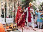 દિયા મિર્ઝા-વૈભવ રેખીના લગ્નઃ વરમાળાથી લઈ રજિસ્ટર મેરેજ સુધીની તસવીરો|બોલિવૂડ,Bollywood - Divya Bhaskar