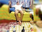 સુરતમાં ભાજપના ઉમેદવાર સોમનાથ મરાઠેના દારૂ પાર્ટી કરતા ફોટો ફરતાં થયા, કહ્યું ફોટો એડિટ કરેલા છે સુરત,Surat - Divya Bhaskar