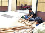 અમદાવાદ મ્યુનિ.માં ઓવૈસીના પક્ષ માટે જગ્યા કરવા કોંગ્રેસની ઓફિસ નાની કરી દેવાઈ|અમદાવાદ,Ahmedabad - Divya Bhaskar