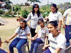 જામનગરની મહિલાએ સાઇકોલોજીનો અભ્યાસ કર્યા બાદ દિવ્યાંગ બાળકોની સેવામાં પોતાનું જીવન સમર્પિત કરી દીધું|જામનગર,Jamnagar - Divya Bhaskar