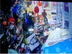 રાજકોટમાં ધર્મના નામે ભિક્ષા માંગનાર યુવકે વેપારી અને ગ્રાહકની હાજરીમાં ગણતરીની સેકન્ડમાં મોબાઇલ ચોરી લીધો, સમગ્ર ઘટના CCTVમાં કેદ|રાજકોટ,Rajkot - Divya Bhaskar