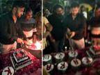 અમદાવાદમા બર્થ ડે બોયને જાહેરમાં તલવારથી કેક કાપવી ભારે પડી, વીડિયો વાયરલ થતાં પોલીસે સાત લોકોની ધરપકડ કરી|અમદાવાદ,Ahmedabad - Divya Bhaskar