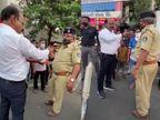 અમદાવાદના ભાજપના MLAની દાદાગીરી; હાથ ખેંચી પોલીસકર્મીને કહ્યું- હું કહું એટલે ઊભા રહેવાનું નહિં તો સસ્પેન્ડ થશો, ક્યાં જતાં રહેશો ખબર નહિં પડે અમદાવાદ,Ahmedabad - Divya Bhaskar