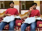 ગંભીર બીમારીથી બાળકને બચાવવા રીબડાના રાજદીપસિંહએ સોશિયલ મીડિયામાં મદદ માંગી, 7 લાખથી વધુ લોકોએ આ વિડીયો નિહાળ્યો|રાજકોટ,Rajkot - Divya Bhaskar