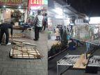 અમદાવાદમાં રાત્રિ કર્ફ્યૂ શરૂ થવાના બે કલાક પહેલા જ AMCની ટીમોએ દુકાનો, રેસ્ટોરાં, કાફે, ટી સ્ટોલ બંધ કરાવી દેતા વેપારીઓમાં રોષ|અમદાવાદ,Ahmedabad - Divya Bhaskar