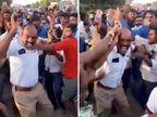 મૈસૂરુમાં ત્રણ ટ્રાફિકકર્મીને દોડાવી-દોડાવીને માર્યા, અકસ્માત બાદ ટોળું વિફર્યું|ઈન્ડિયા,National - Divya Bhaskar