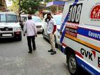 સુરતમાં પોલીસના જાપ્તામાં રહેલો કોરોનાનો દર્દી હોસ્પિટલ લઈ જતી વખતે એમ્બ્યુલન્સમાંથી કુદ્યો, સારવાર દરમિયાન મોત સુરત,Surat - Divya Bhaskar