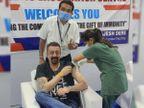 સંજય દત્તે કોરોના વેક્સિનનો પહેલો ડોઝ લીધો, ફોટો શૅર કરીને ડૉક્ટર્સની ટીમે શુભેચ્છા આપી|બોલિવૂડ,Bollywood - Divya Bhaskar