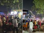 અમદાવાદમાં રાજસ્થાનીઓ હોળી-ધુળેટીની ઉજવણી માટે વતન દોડ્યા, મોડી રાતે 500થી વધુની ભીડ ઊમટી|અમદાવાદ,Ahmedabad - Divya Bhaskar