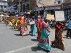 મોંઘવારી મુદ્દે આજે કરચલીયા પરા વિસ્તારમાં આમ જનતા દ્વારા રેલીયોજી કલેકટરને આવેદનપત્ર પાઠવ્યું|ભાવનગર,Bhavnagar - Divya Bhaskar