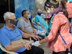 સુરતમાં કોરોના વિસ્ફોટ કરનાર સુપર સ્પ્રેડરને શોધવા આરોગ્ય તંત્રના ઉધામા, શાકભાજીથી લઈને કરિયાણાની દુકાનદારોના ટેસ્ટિંગ કરાય છે|સુરત,Surat - Divya Bhaskar