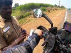 પોલીસે બાઈકરને રસ્તા પર દંડ માટે નહીં પણ વૃદ્ધ મહિલાની નીચે પડી ગયેલી દવા પરત કરવા રોક્યો, યુટ્યુબ પર 4 લાખ લોકોએ વીડિયો જોયો|લાઇફસ્ટાઇલ,Lifestyle - Divya Bhaskar