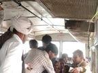 ધારી-ઉના રૂટની એસટી બસમાં એક પેસેન્જરે કંડકટર સાથે બોલાચાલી બાદ ધમાલ મચાવી, વીડિયો સોશિયલ મીડિયામાં વાઈરલ|અમરેલી,Amreli - Divya Bhaskar