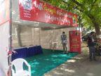 અમદાવાદમાં કોરોના ટેસ્ટિંગ ડોમમાં ટેસ્ટ કરાવવા લોકોએ લાઈન લગાવી, 2 કલાક સુધી મેડિકલ ટીમ પહોંચી નહીં|અમદાવાદ,Ahmedabad - Divya Bhaskar