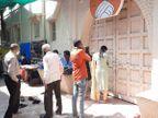 કોરોના સંક્રમણને અટકાવવા વીરપુરનું જલારામ મંદિર દર્શનાર્થીઓ માટે ત્રણ દિવસ સુધી બંધ, દરવાજાના દર્શન કરી ધન્યતા અનુભવતા ભાવિકો|રાજકોટ,Rajkot - Divya Bhaskar
