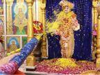 કુમકુમ સ્વામિનારાયણ મંદિરમાં આ વર્ષે હરિભક્તો વિના જ ફુલદોલોત્સવનું આયોજન, ઓનલાઈન દર્શન કરી શકાશે|અમદાવાદ,Ahmedabad - Divya Bhaskar